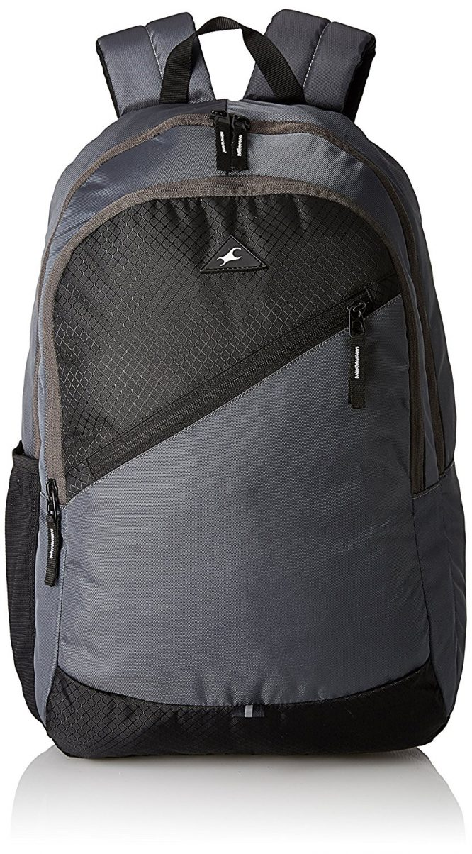Fastrack 20.24 Ltrs Grey School Backpack